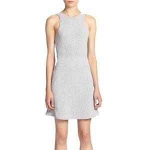 3.1 PHILLIP LIM Textured Knit Gray Dress Small